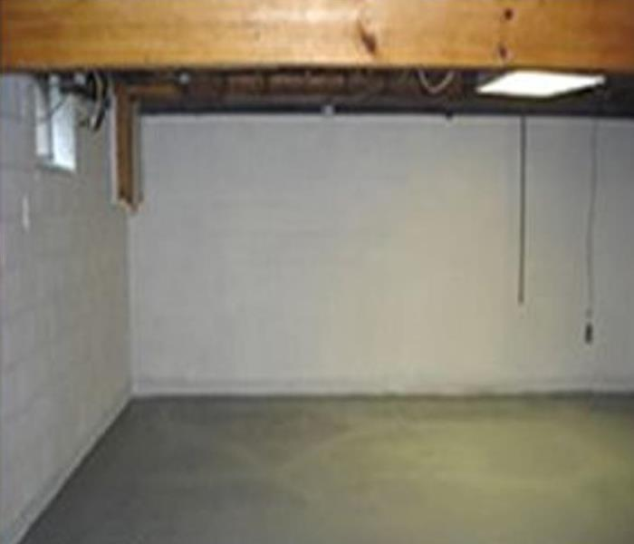 Basement Water Damage - Westwood, MA After