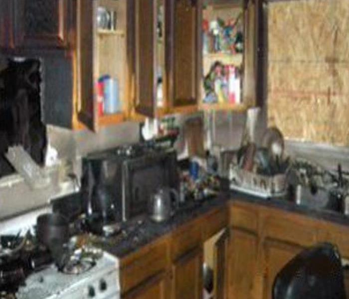 Kitchen Fire in Foxboro, MA Before