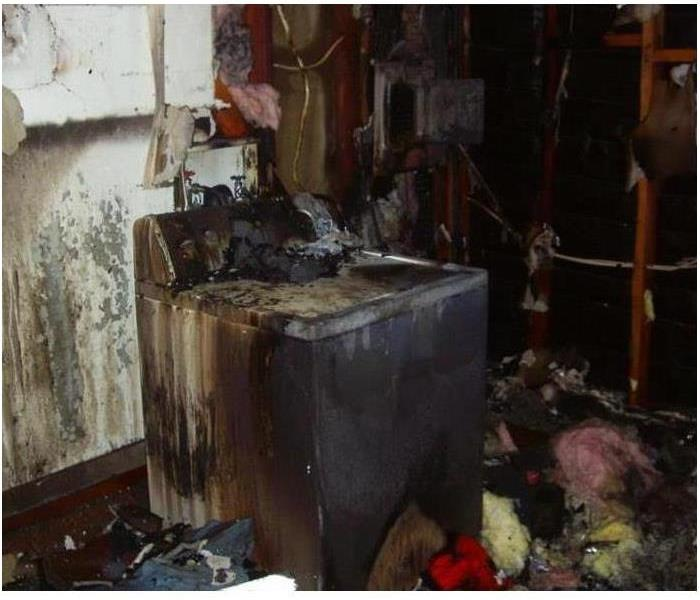 Fire Damage Preventing Dryer Fires