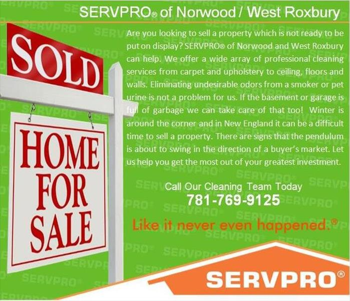 Cleaning Looking to sell your home?